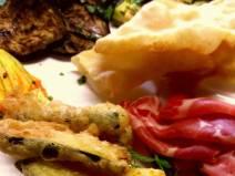 Antipasto ristorante I Ronchi Arquà Petrarca sui Colli Euganei